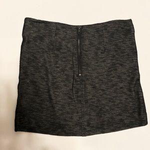 BCBGeneration Skirts - BCBGenration Gunmetal Mini Skirt